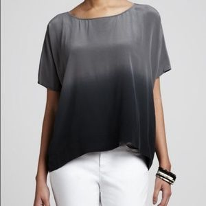 Eileen Fisher Ombre Silk Top